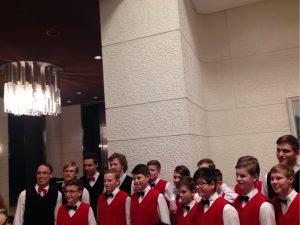 ボニファンテス少年合唱団のコンサートの画像