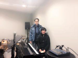 稲垣潤一さんとのライブのリハーサルの画像